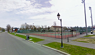 tennis courts on rue du Gouverneur
